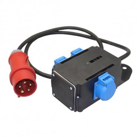 VS: Anschluss-Steuerkabel zur Ansteuerung über Einblasmaschine, L   ca. 50 m