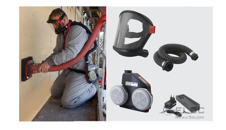 Einblas-Atemschutz Komplett-Set EA3000