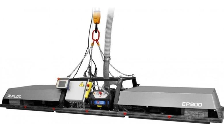 EP800 Einblasplatte für industrielle Elementbefüllung