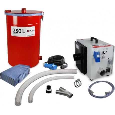 Dichtlappensatz Isofloccer / Force 1 / Minifloc (169x122) Gummi hochfest