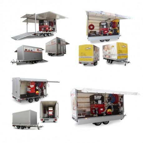 Dichtlappensatz Intec Cyclone (L 462mm) Gummi hochfest
