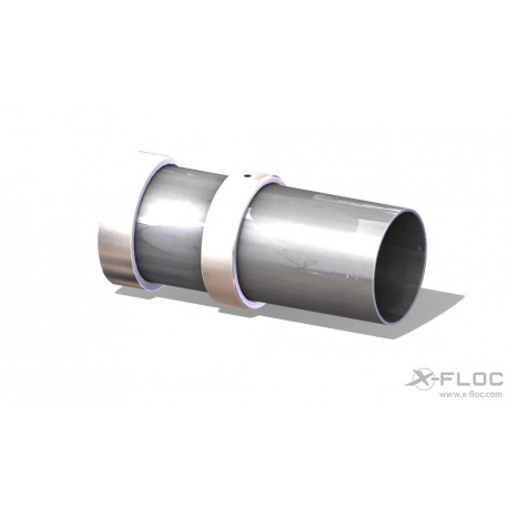 """DDE: Rotary nozzle """"X-Jet 75"""" with clamping ring for insulation thickness 105-400 mm"""