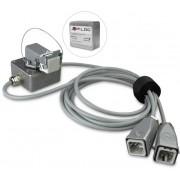Glasfiberstange x-floc: D 8, L 6m inkl. Verbindungsstücke M8