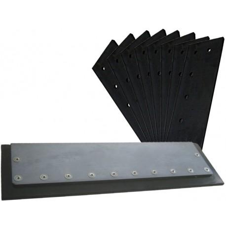 Air filter mat L 290 B 225 made from viledon