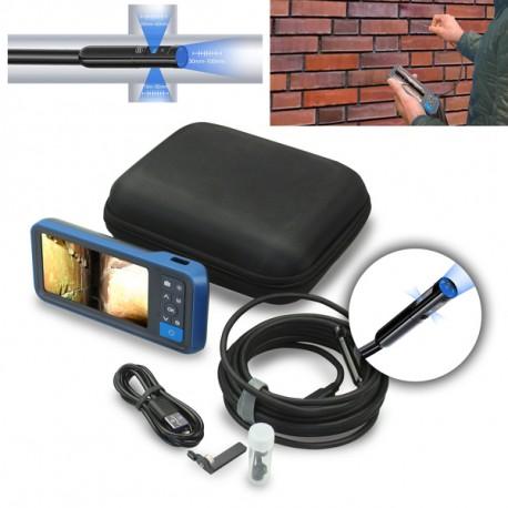 Einblasdüse NW50-24 AV (mit Absperrventil), 45° Auslass (erhöhte Verschleißfestigkeit)