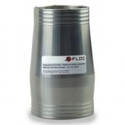 Pneumatic Fibre Switch Cascade with 4 Outputs