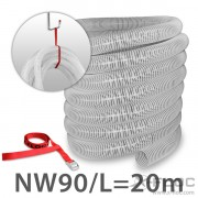 Accessories set NW90/75/63 extra for loose-fill insulation (nonabrasive)