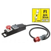 Netz-Adapter 400V/16A, 10m Ring, CEE